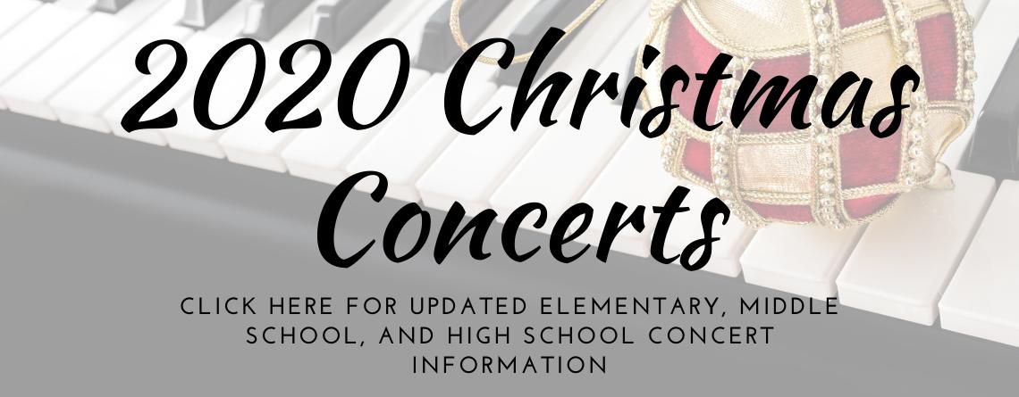 Christmas Music Concerts